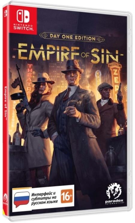 Empire of Sin. Издание первого дня [Switch]