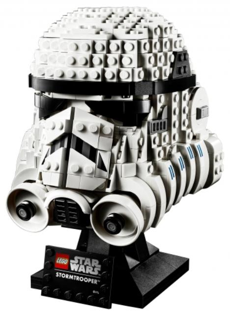 Фото - Конструктор LEGO Star Wars: Шлем штурмовика lego star wars книга идей