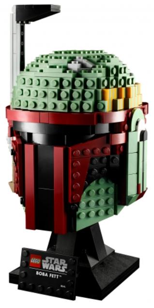 Фото - Конструктор LEGO Star Wars: Шлем Бобы Фетта lego star wars книга идей