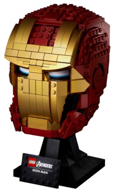 Конструктор LEGO Super Heroes: Шлем Железного Человека