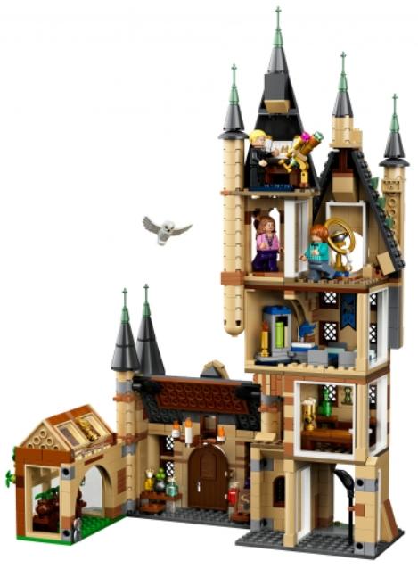 Конструктор LEGO Harry Potter: Астрономическая башня Хогвартса конструктор lego harry potter tm 75967 запретный лес грохх и долорес амбридж