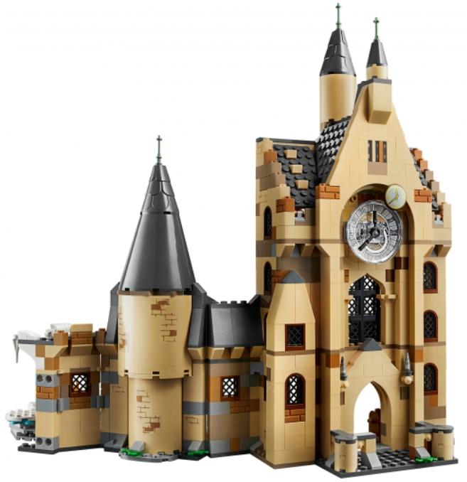 Конструктор LEGO Harry Potter: Часовая башня Хогвартса конструктор lego harry potter tm 75967 запретный лес грохх и долорес амбридж