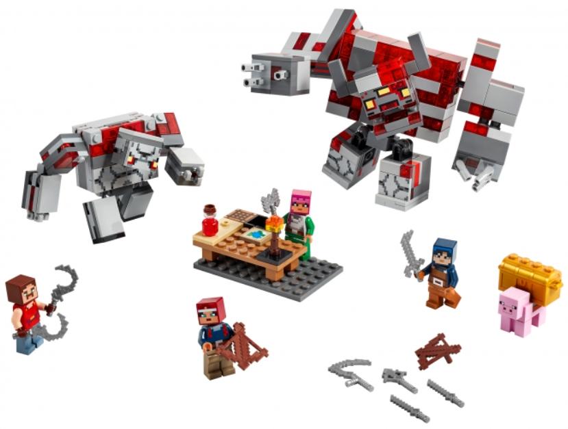 Конструктор LEGO Minecraft: Битва за красную пыль