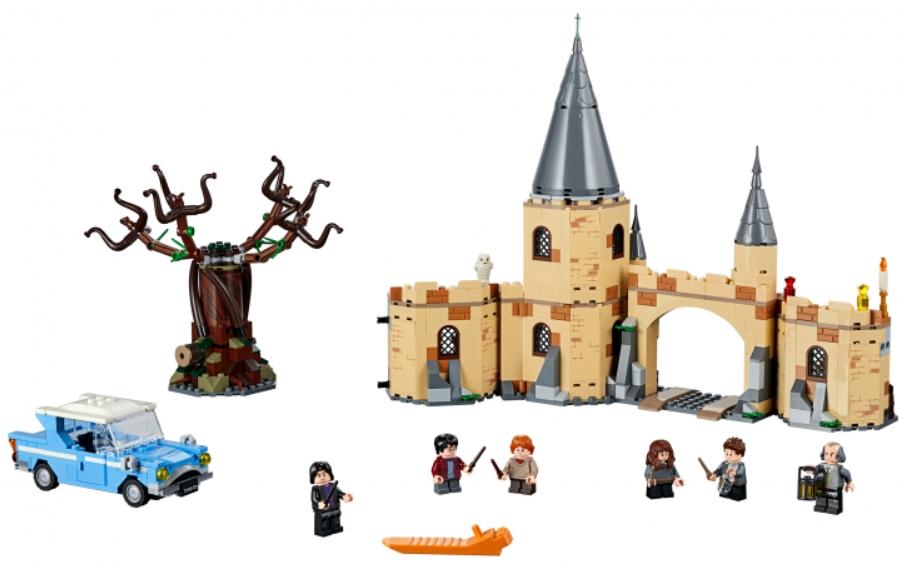Конструктор LEGO Harry Potter: Гремучая ива конструктор lego harry potter tm 75967 запретный лес грохх и долорес амбридж