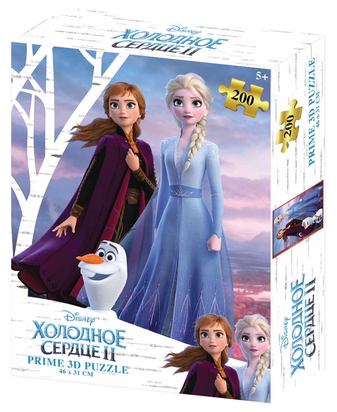Prime 3D Puzzle: Disney – Холодное Сердце 3 (200 элементов) prime 3d puzzle disney – история игрушек 2 100 элементов
