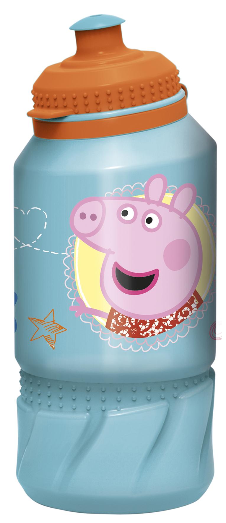 Бутылка Свинка Пеппа (пластиковая) (420 мл.)