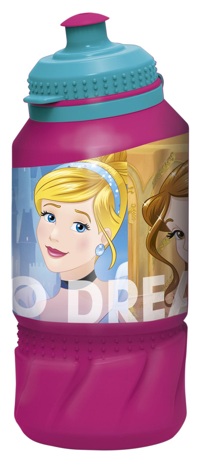 Бутылка Принцессы: Дружные приключения (пластиковая) (420 мл.)