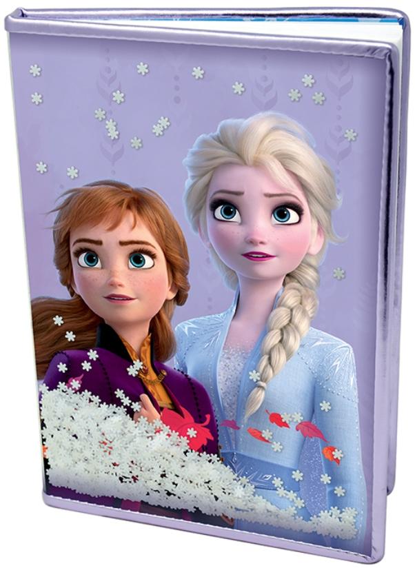 Блокнот Frozen 2: Snow Sparkles Premium A5