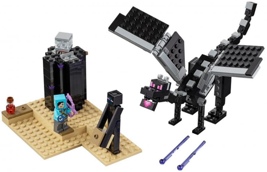 Конструктор LEGO Minecraft: Последняя битва