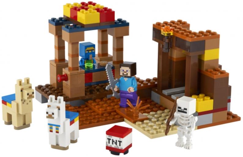 Конструктор LEGO Minecraft: Торговый пост