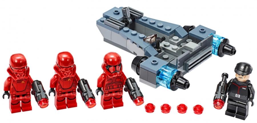 Фото - Конструктор LEGO Star Wars: Боевой набор. Штурмовики ситхов lego star wars книга идей