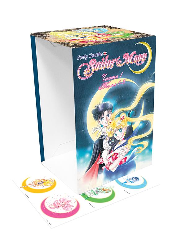 Коллекционный бокс для манги Sailor Moon + наклейки