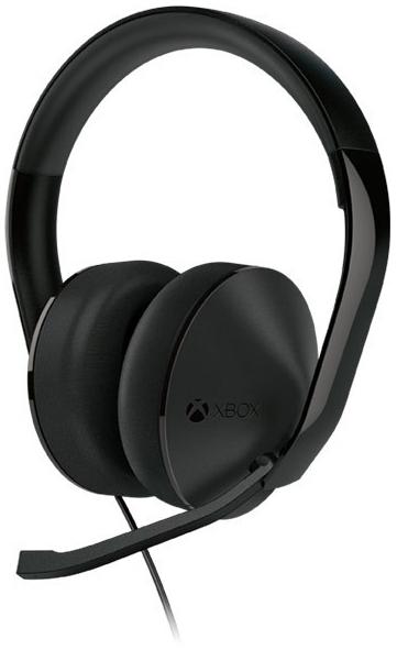 Стерео гарнитура проводная игровая Stereo Headset для Xbox One (S4V-00013).
