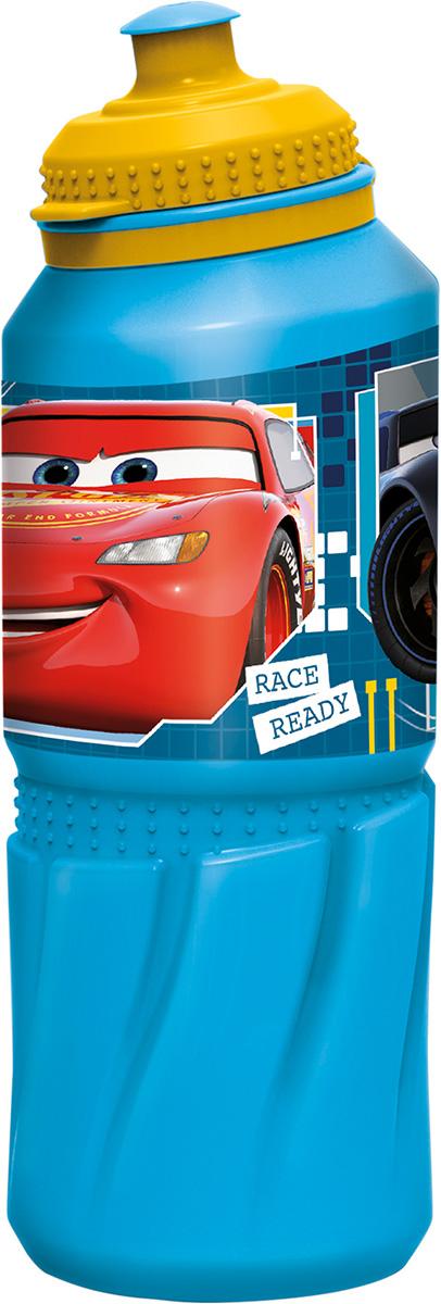 Бутылка Тачки: К гонкам готов (пластиковая) (530 мл.)
