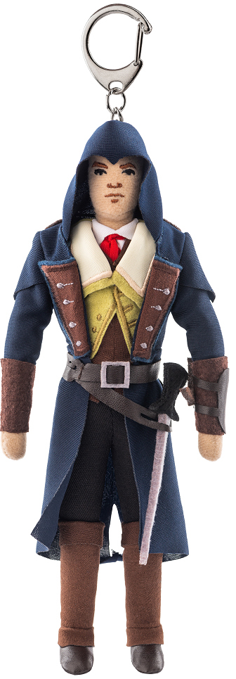 Мягкая игрушка Assassin's Creed: Arno Dorian (с карабином)