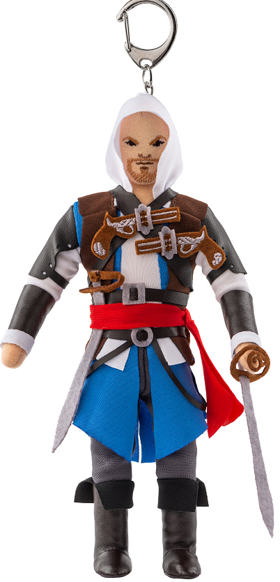 Мягкая игрушка Assassin's Creed: Edward Kenway (с карабином)