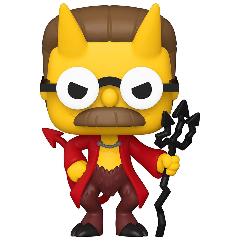 Фигурка Funko POP Television: The Simpsons Treehouse Of Horror – Demon Flanders Glows In The Dark Exclusive (9,5 см)
