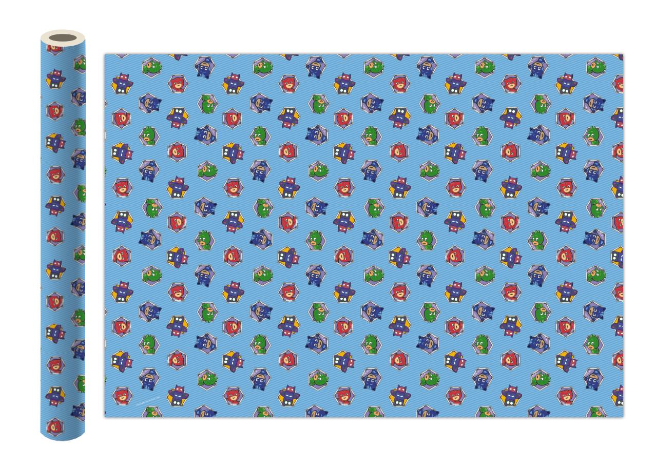 Фото - Бумага упаковочная Герои в масках Голубая 700*1000мм (2 шт) бумага упаковочная принцесса 700 1000мм 2 шт
