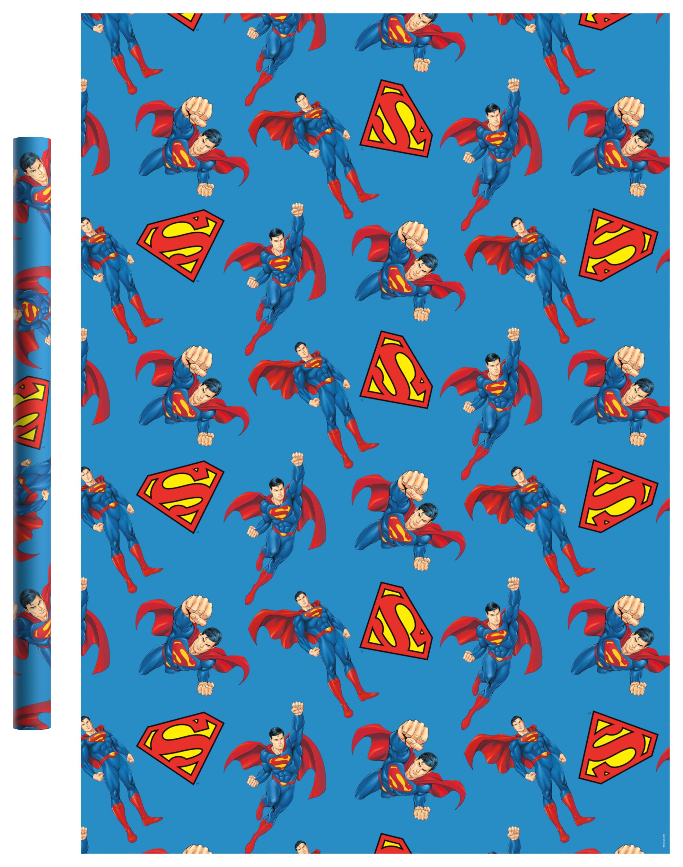 Фото - Бумага упаковочная Superman Синяя 700*1000мм (2 шт) бумага упаковочная принцесса 700 1000мм 2 шт