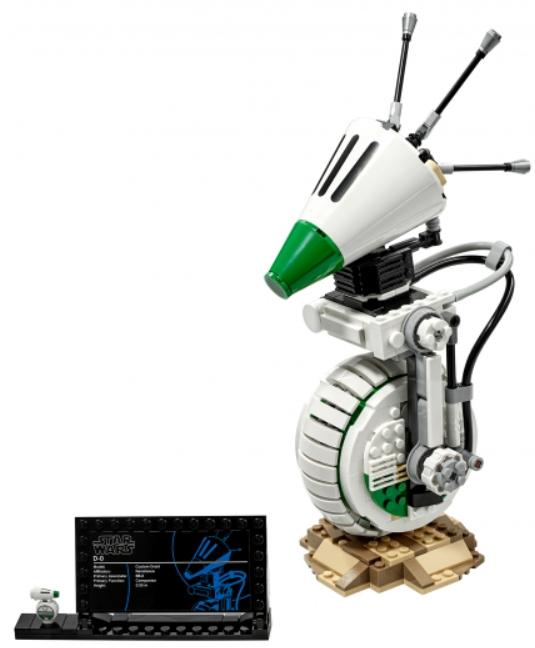 Конструктор LEGO Star Wars: Дроид D-O