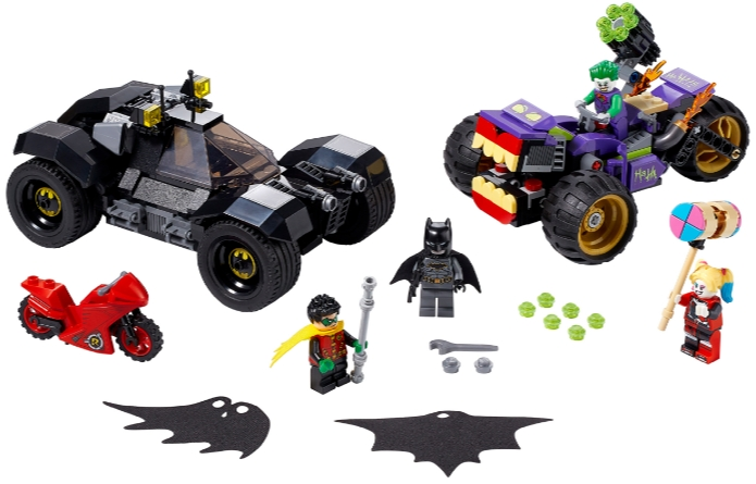 Конструктор LEGO Super Heroes: Побег Джокера на трицикле