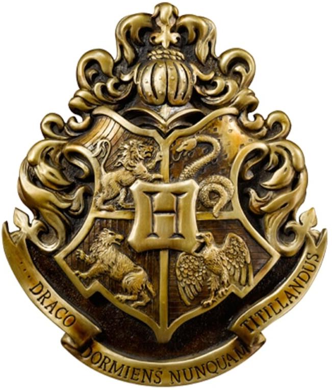 Фото - Герб Гарри Поттер: Хогвартс (28 см) printio футболка классическая хогвартс гарри поттер