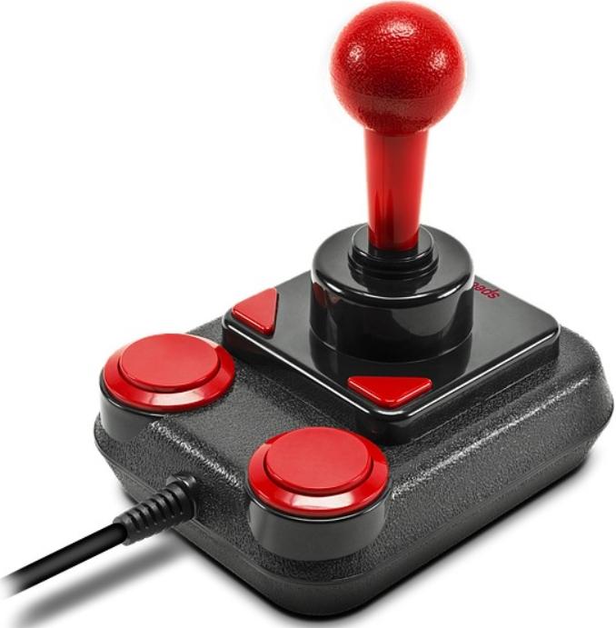 Джойстик Speedlink Competition Pro Extra USB Joystick – Anniversary для PC (SL-650212-BKRD)