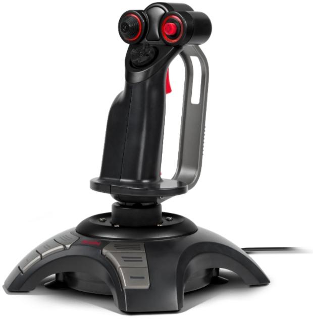 Джойстик Speedlink Phantom Hawk Flightstick для ПК (SL-6638-BK) амортизатор для аналоговых стиков speedlink shoxx game enhancer for ps4 gamepad sl 450801 bk