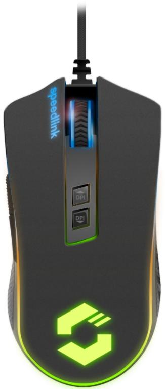 Мышь Speedlink Orios RGB Gaming Mouse black проводная для PC (SL-680010-BK) недорого