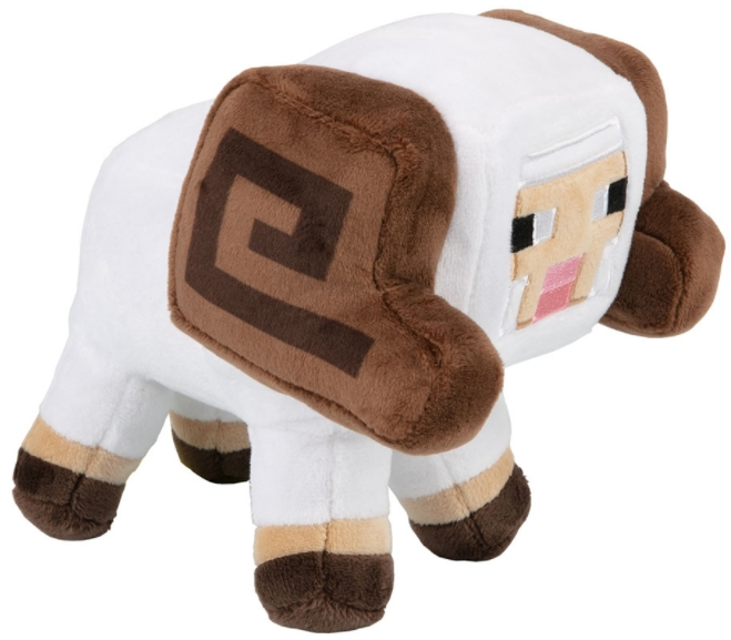Мягкая игрушка Minecraft: Earth Happy Explorer – Horned Sheep (17 см)