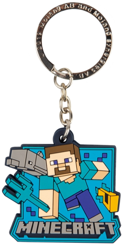 Фото - Брелок Minecraft: Aquatic Steve брелок minecraft origina craftsta
