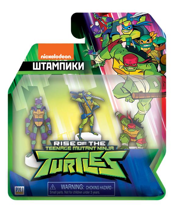 Фигурка-штамп Teenage Mutant Ninja Turtles (3-Pack) (12 видов) блистер (1шт. в ассортименте)