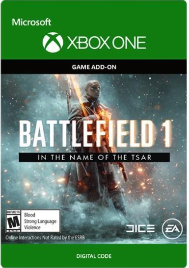 Фото - Battlefield 1: In the Name of the Tsar. Дополнение [Xbox One, Цифровая версия] (Цифровая версия) средиземье тени войны middle earth shadow of war the blade of galadriel story expansion дополнение [xbox one win10 цифровая версия] цифровая версия