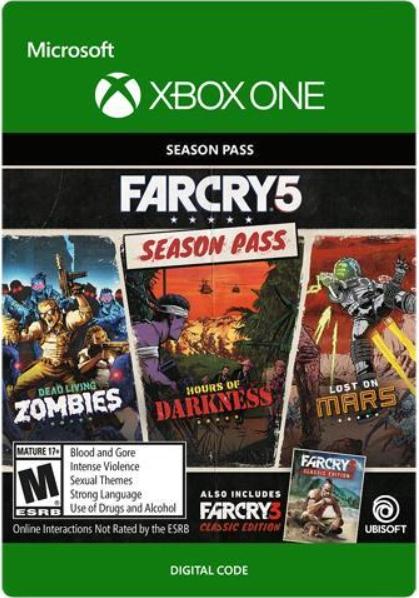far cry 5 season pass Far Cry 5: Season Pass. Дополнение [Xbox One, Цифровая версия] (Цифровая версия)