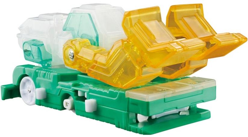 Машинка-трансформер Screechers Wild: Фроузен Сноу (линейка 5)