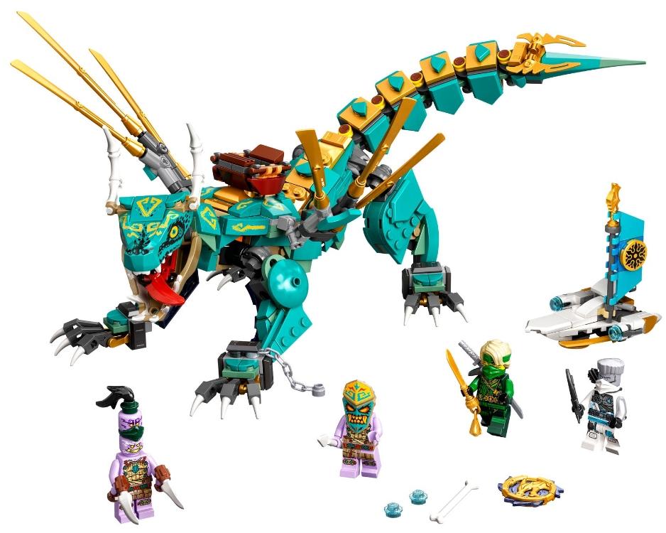 Конструктор LEGO Ninjago: Дракон из джунглей
