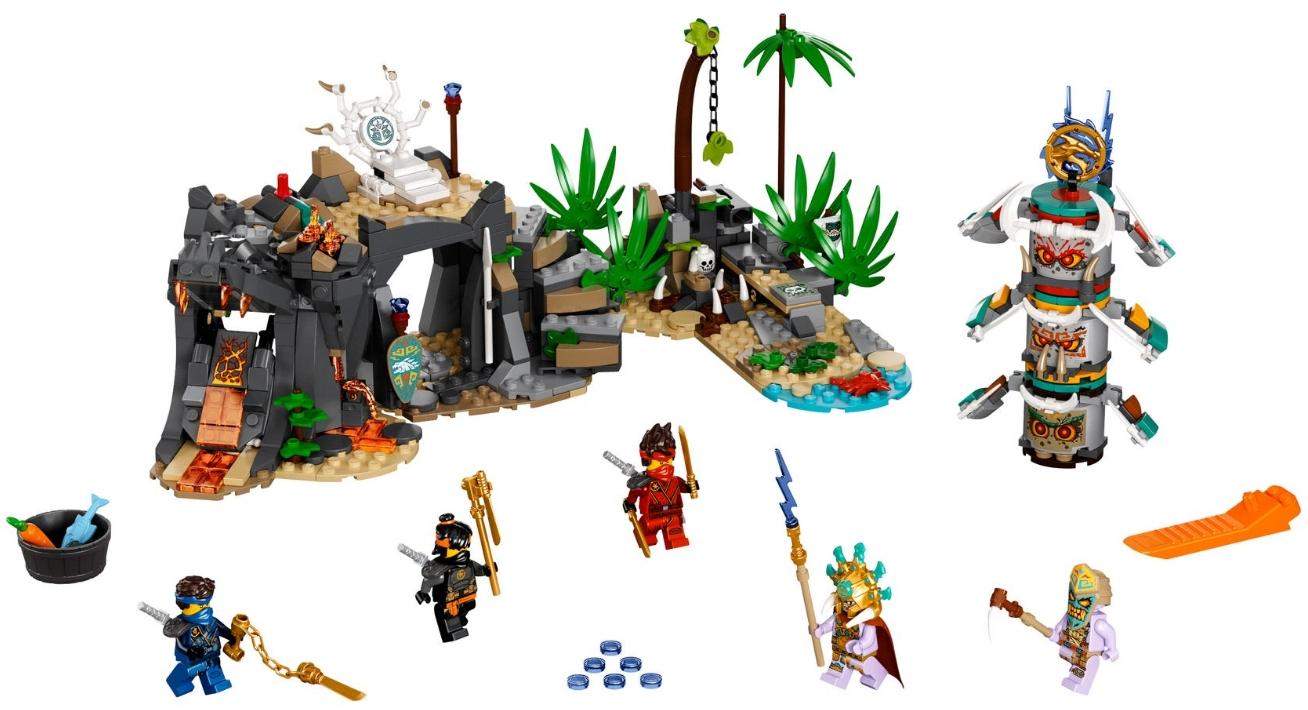 Конструктор LEGO Ninjago: Деревня Хранителей