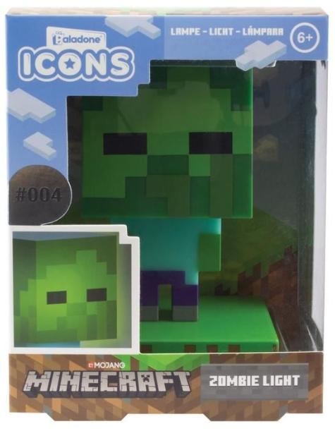 Светильник Minecraft: Zombie