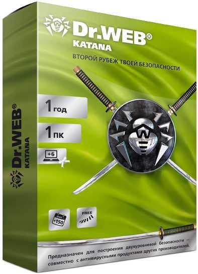 Dr.Web Katana (1 ПК, 1 год) [Цифровая версия] (Цифровая версия)
