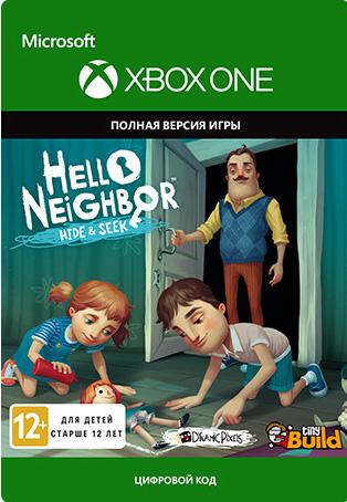 Hello Neighbor Hide and Seek [Xbox One, Цифровая версия] (Цифровая версия)