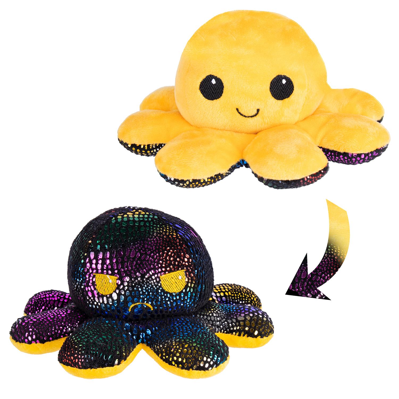 Мягкая игрушка Осьминожка жёлтая