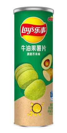 Фото - Чипсы Lays Вкус васаби и авокадо (90г) чипсы lays вкус васаби и авокадо 90г