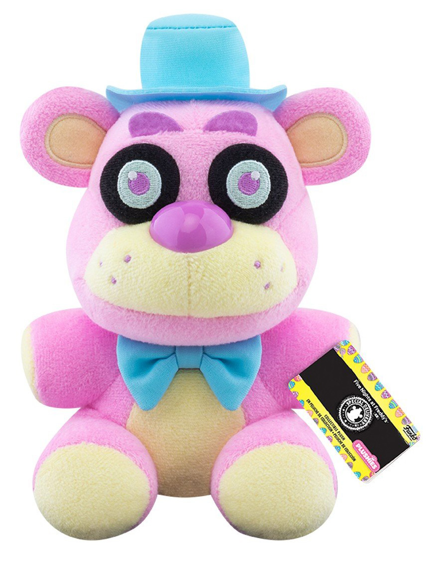 Мягкая игрушка Five Nights At Freddy's: Spring Colorway Freddy Pink (15 см)