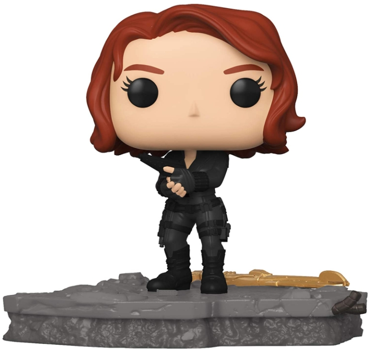 Фигурка Funko POP Marvel Avengers: Assemble – Black Widow Deluxe Bobble-Head Exclusive (9,5 см)