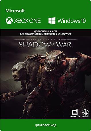 Фото - Средиземье: Тени войны (Middle-earth: Shadow of War) Outlaw Tribe Nemesis Expansion. Дополнение [Xbox One / Windows 10, Цифровая версия] (Цифровая версия) средиземье тени войны middle earth shadow of war the blade of galadriel story expansion дополнение [xbox one win10 цифровая версия] цифровая версия