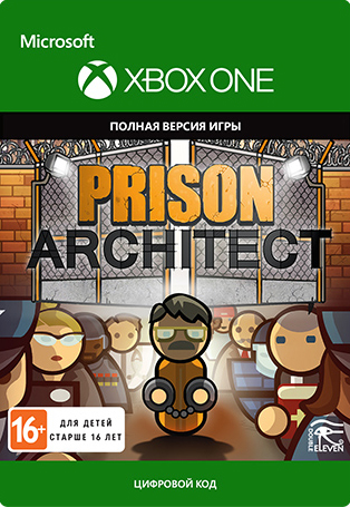 Prison Architect [Xbox One, Цифровая версия] (Цифровая версия)