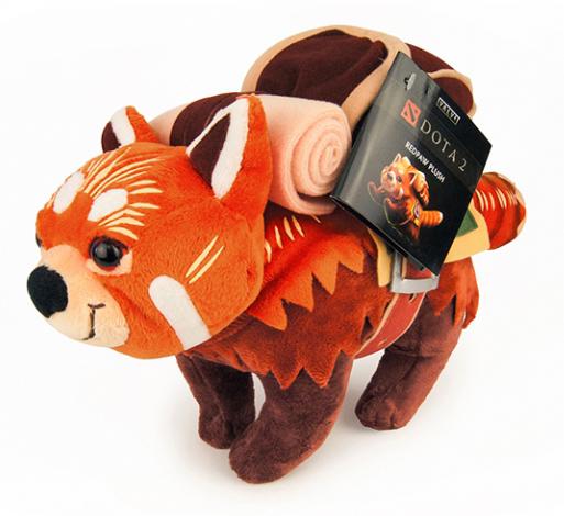 Мягкая игрушка DOTA 2: Redpaw
