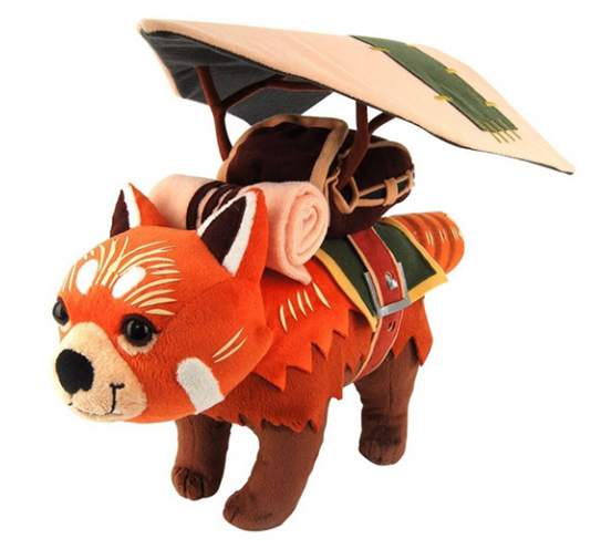 Мягкая игрушка DOTA 2: Redpaw Special