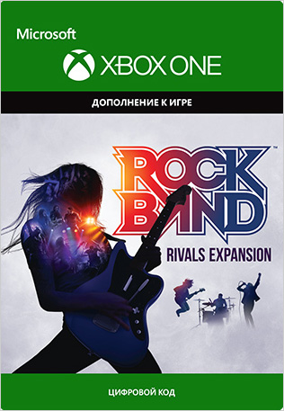 Rock Band: Rivals Expansion. Дополнение [Xbox, Цифровая версия] (Цифровая версия)
