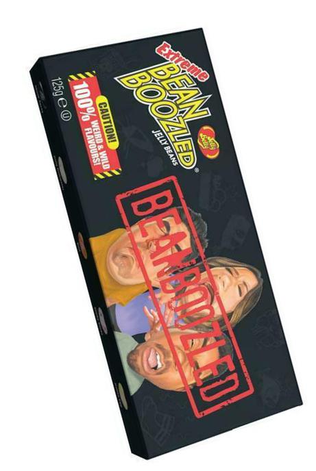 Драже жевательное Jelly Belly: Bean Boozled Extreme Ассорти (125г)